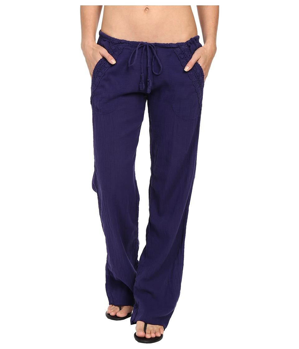 BECCA by Rebecca Virtue - Tivoli Pants Cover-Up (Ink) Women's Swimwear