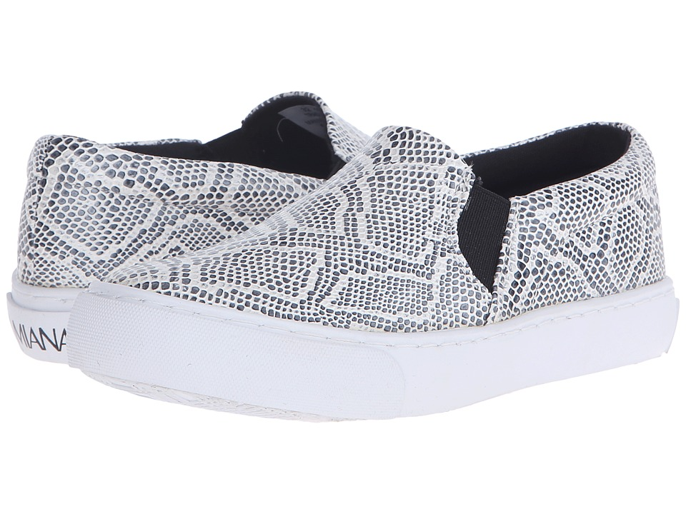 Amiana 15-A5327 (Little Kid/Big Kid/Adult) (Black/White Metallic Python) Girl