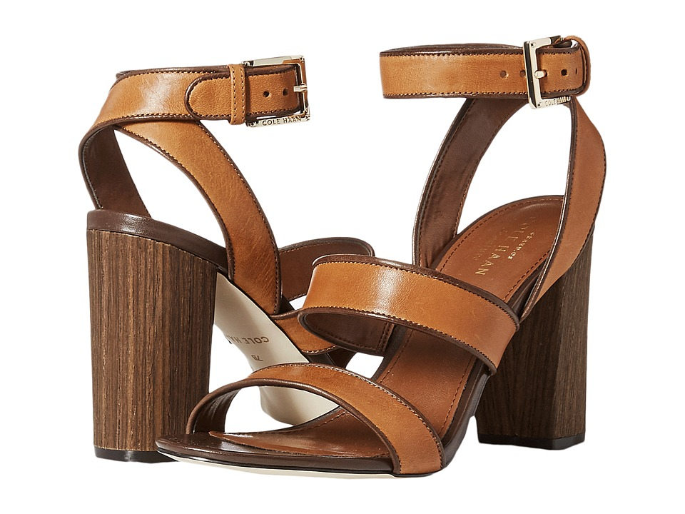 Cole Haan Delilah Sandal (Acorn Leather) Women