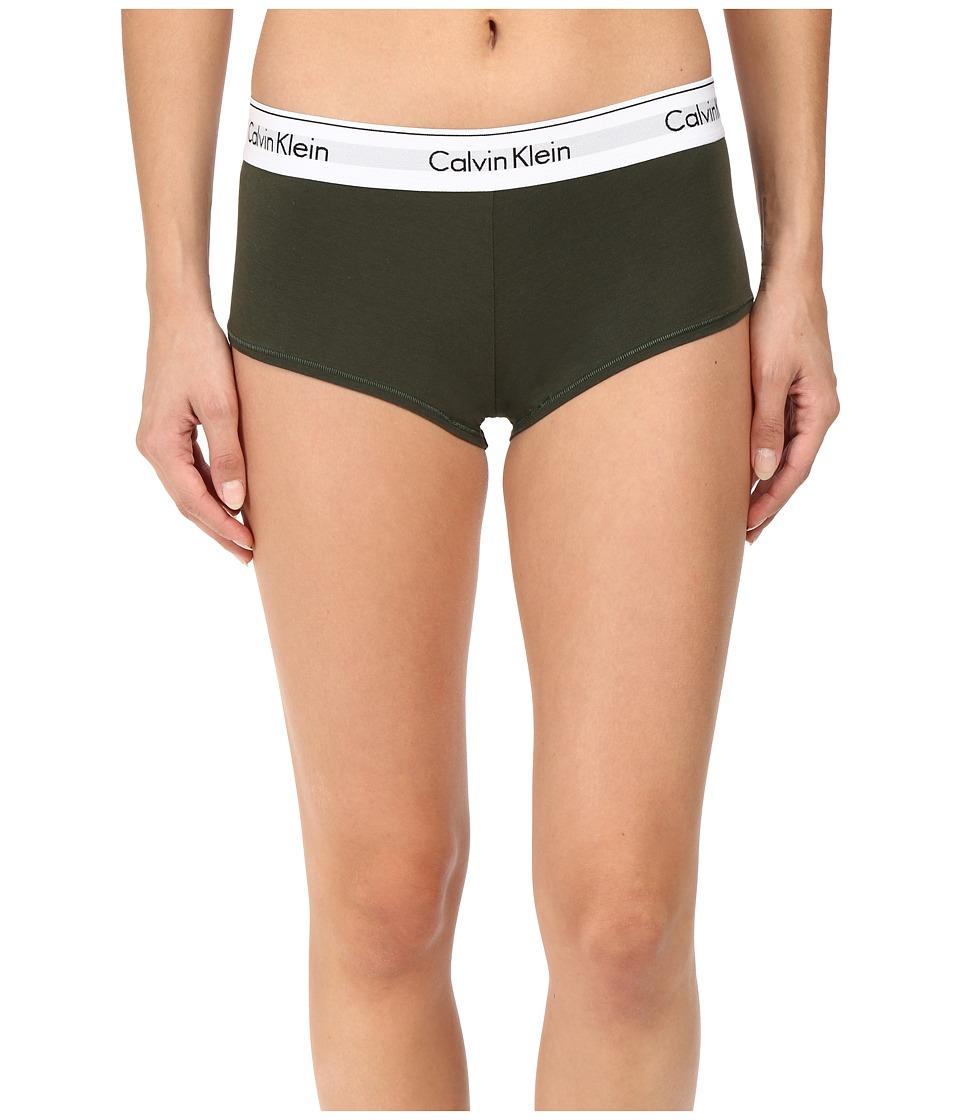 Calvin Klein Underwear - Modern Cotton Boyshort (Valley) Women's Underwear