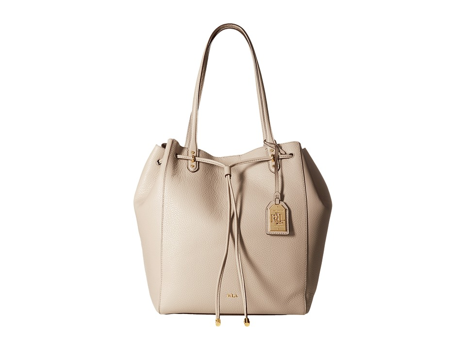 LAUREN Ralph Lauren - Oxford Large Tote (Porcini) Tote Handbags
