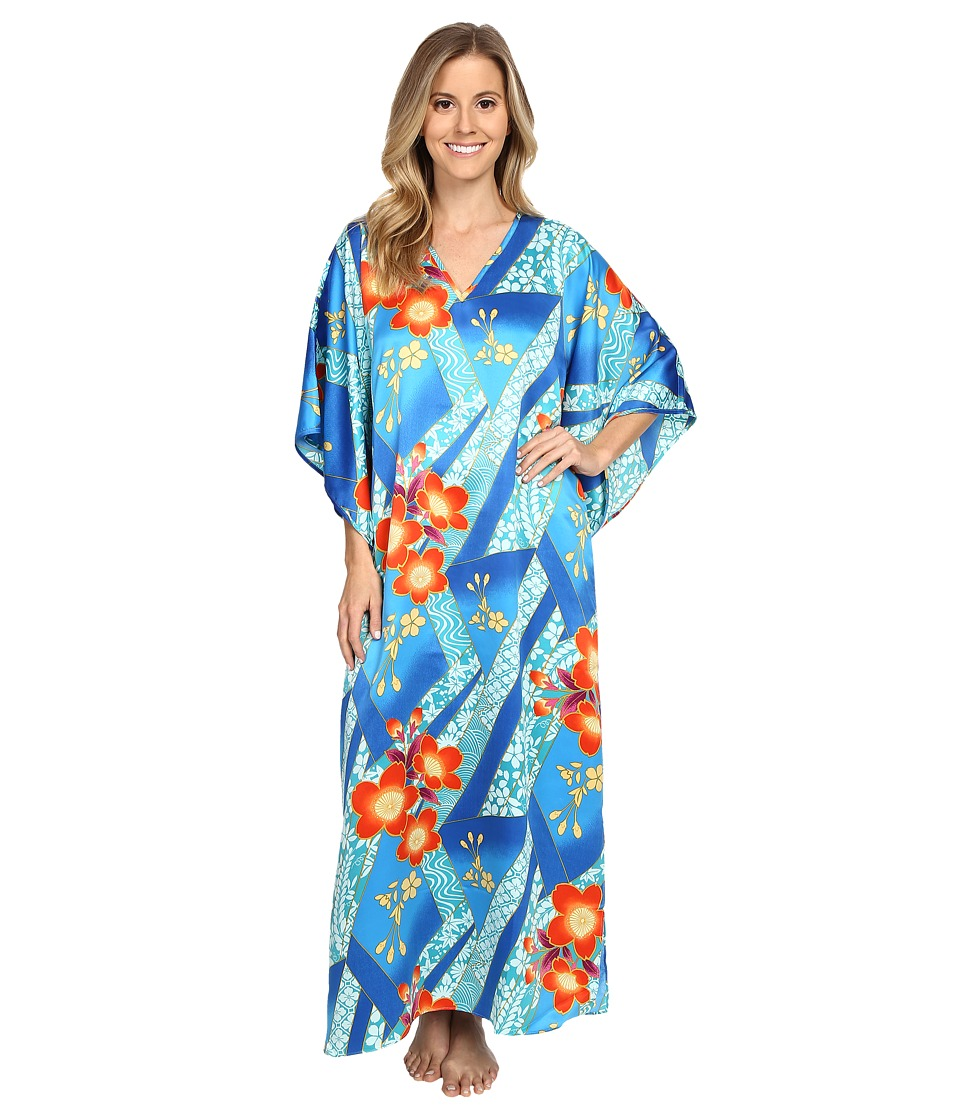 N by Natori - Mikoto 52 Caftan (Blue Note) Women's Robe