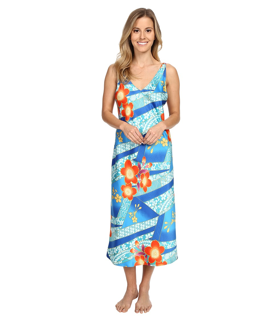 N by Natori - Mikoto 46 Gown (Blue Note) Women's Pajama