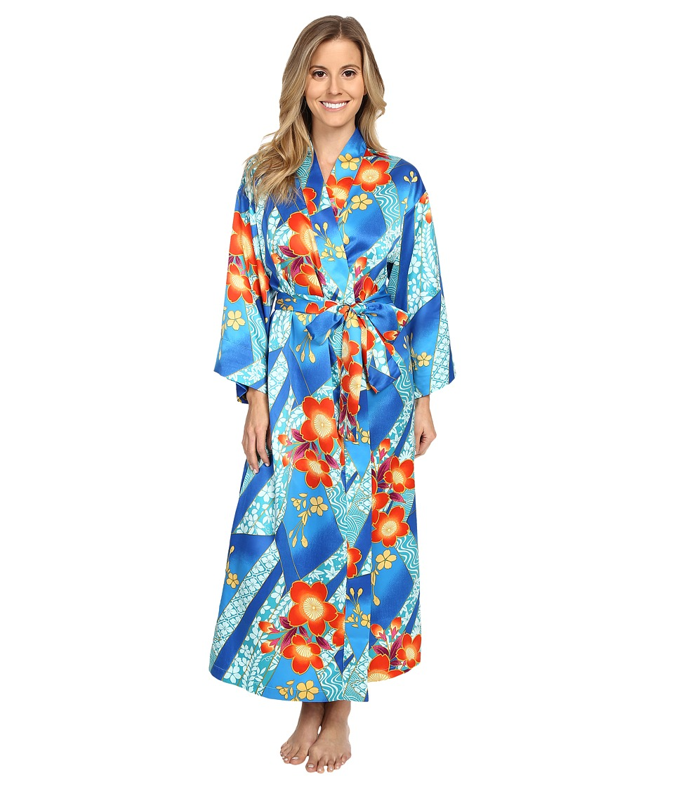 N by Natori - Mikoto 46 Robe (Blue Note) Women's Pajama