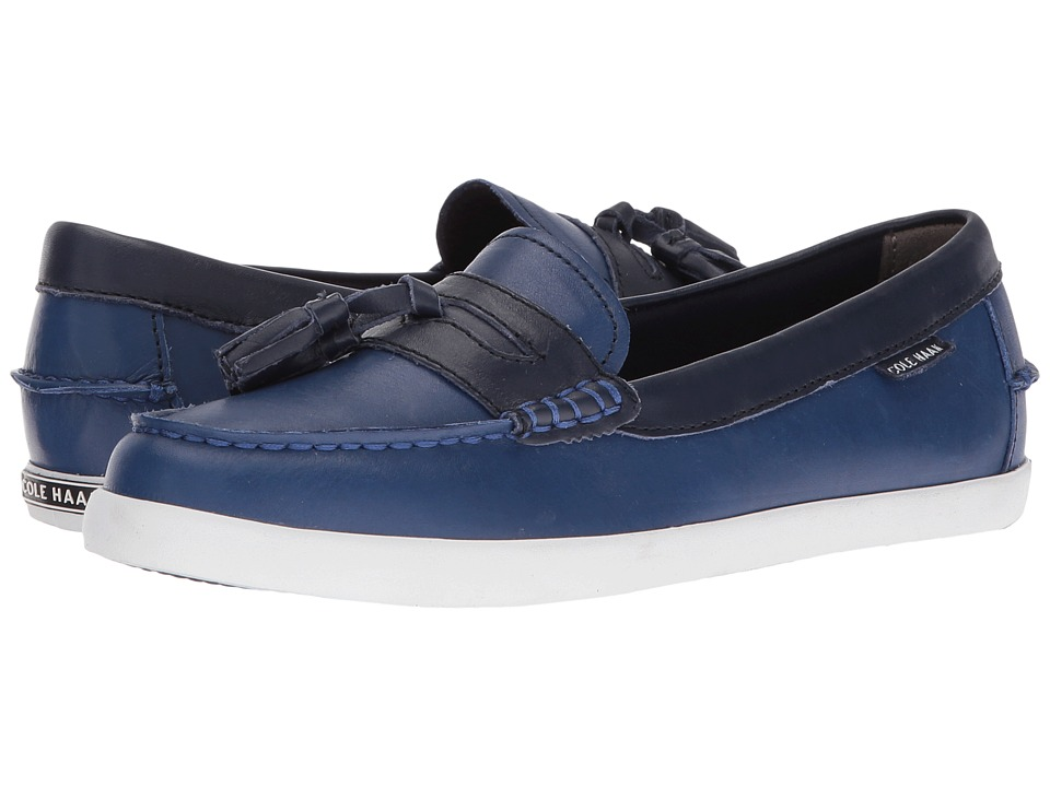 Cole Haan - Pinch Tassel Weekender (Twilight Blue/Marine Blue) Women's Shoes