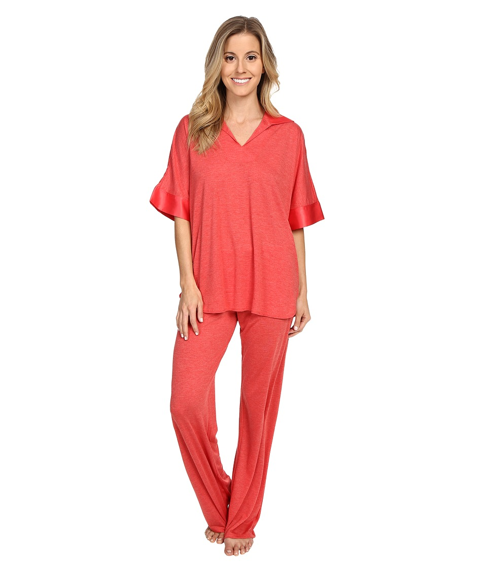 N by Natori - N Natori Tunic PJ (Sunset Red) Women
