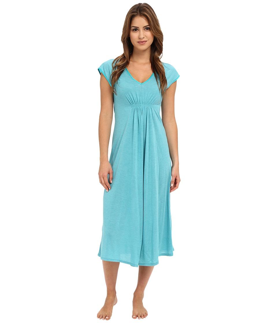 N by Natori - N Natori Gown 52 (Aquamarine) Women's Pajama