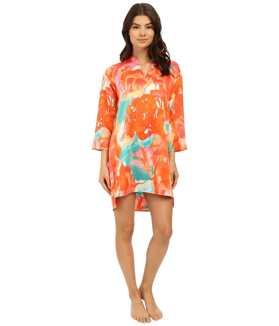 N by Natori - Mandarin Sleepshirt (Original Orange) Women's Pajama