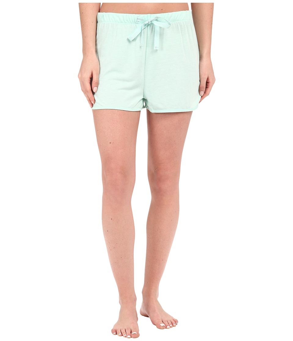 Calvin Klein Underwear - Liquid Lounge Lounge Shorts (Aerial) Women's Pajama