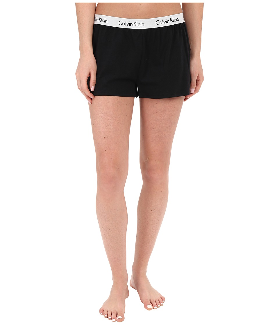 Calvin Klein Underwear - Shift Knit Shorts (Black) Women's Pajama