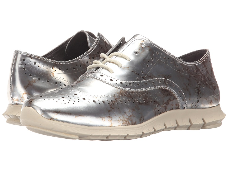 Cole Haan - Zerogrand Wing Oxford (Marble/Ivory Specchio) Women