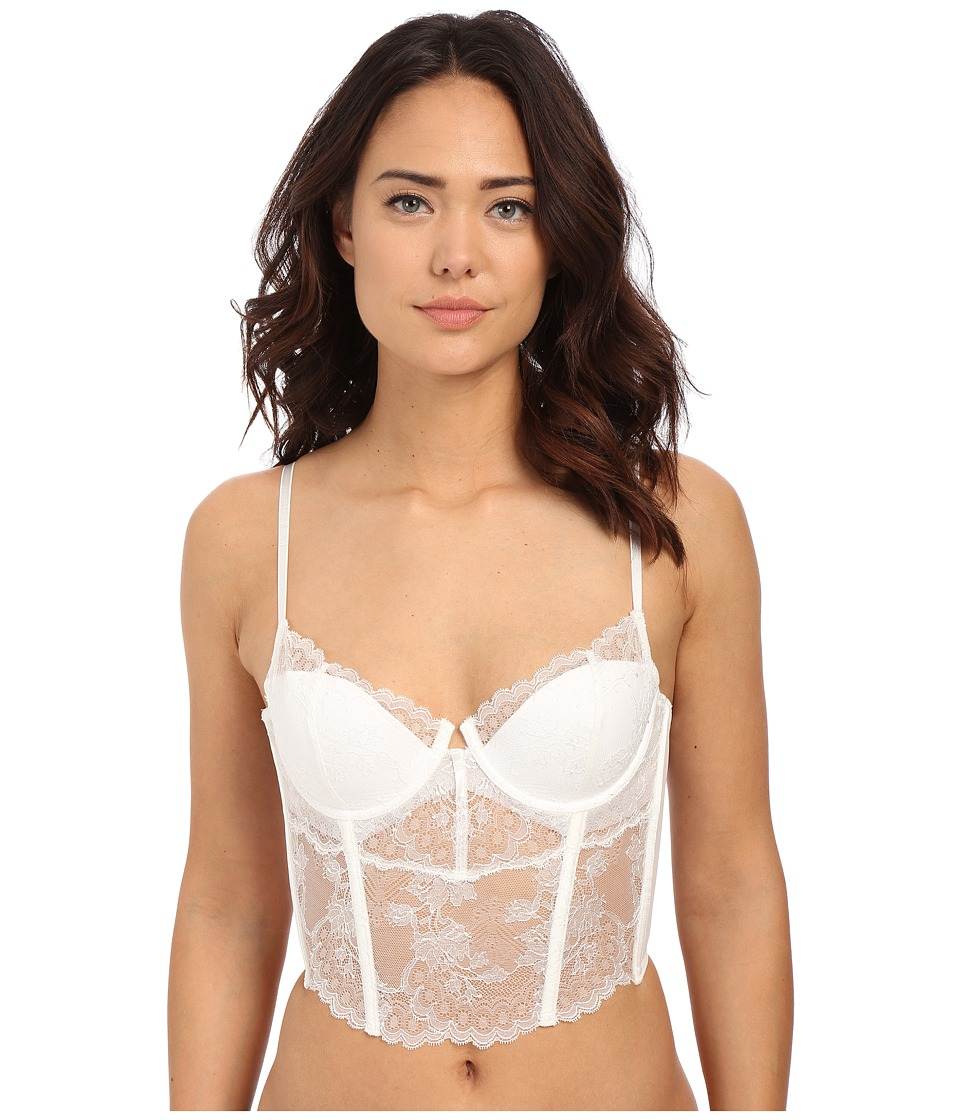 Natori - Chantilly Lace Bustier 171085 (Warm White) Women's Bra