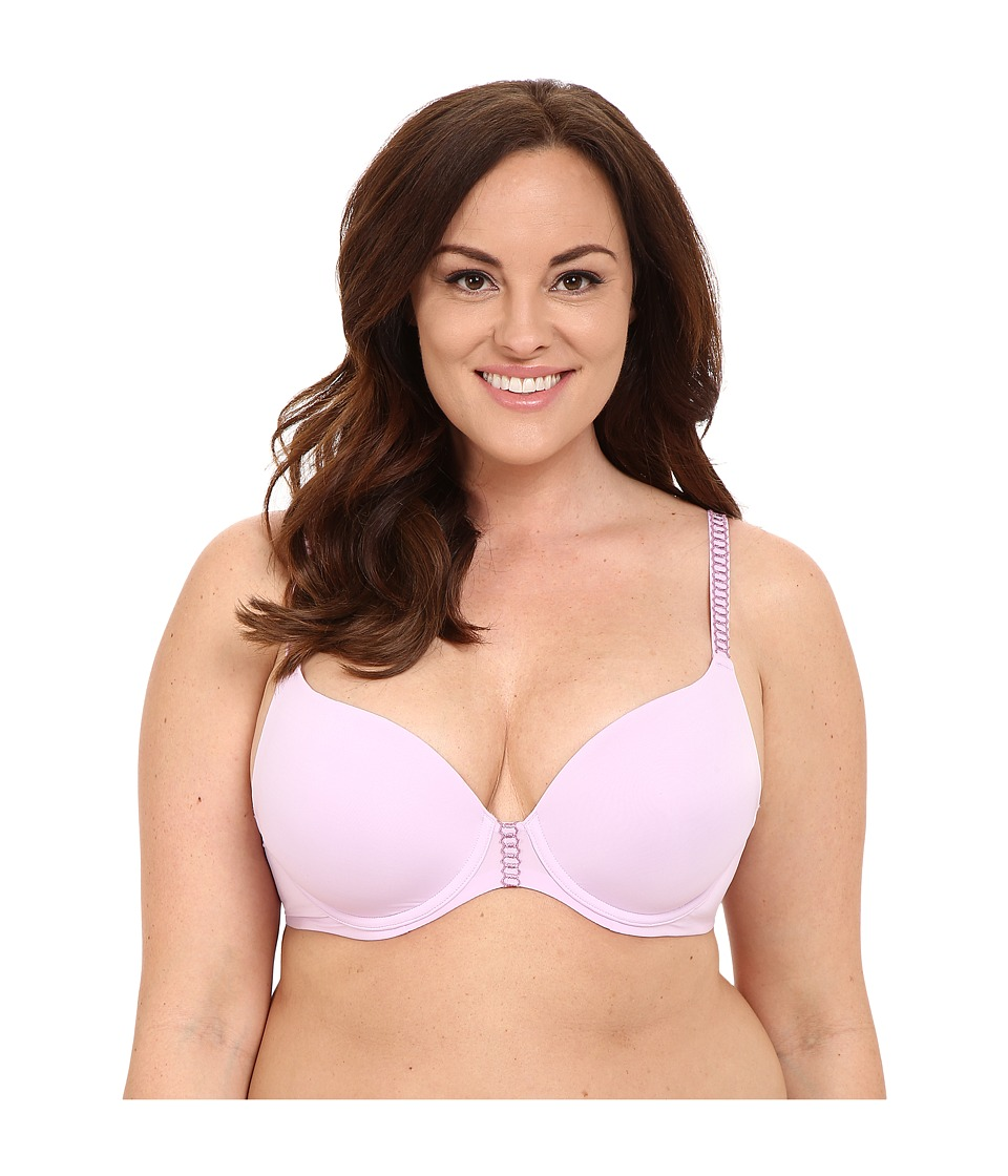 Natori - Ultra Light Full Figure Ultra Light Contour 732124 (Soft Lilac/Oleander) Women's Bra