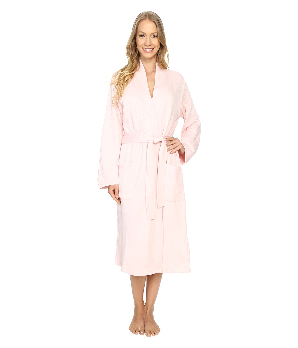 N by Natori - Quilted Robe (Blush) Women's Pajama