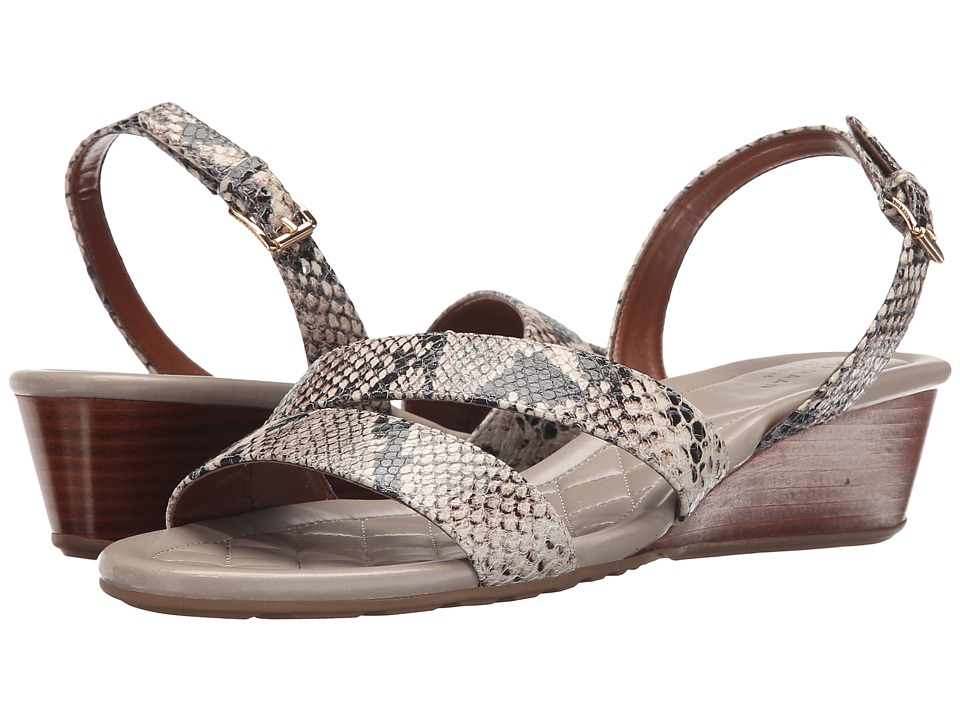Cole Haan - Tali Grand Wedge Sandal (Roccia Snake Print) Women's Sandals