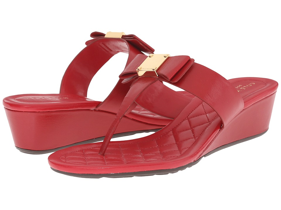 Cole Haan - Tali Bow Sandal 40 (Tango Red) Women's Sandals