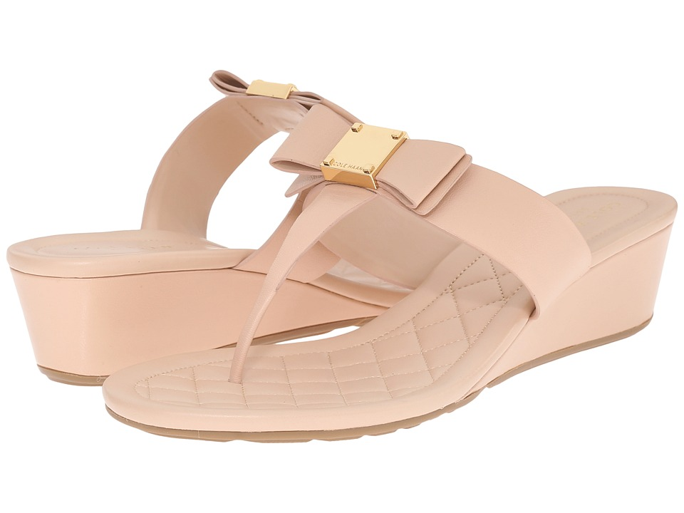 Cole Haan - Tali Bow Sandal 40 (Nude) Women's Sandals