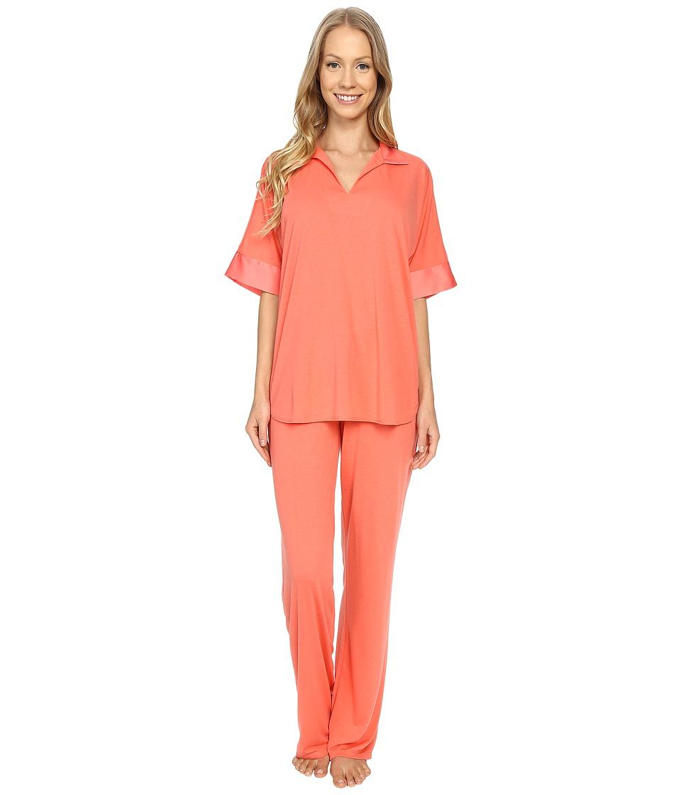 N by Natori - N Natori Tunic PJ (Coral Island) Women's Pajama Sets