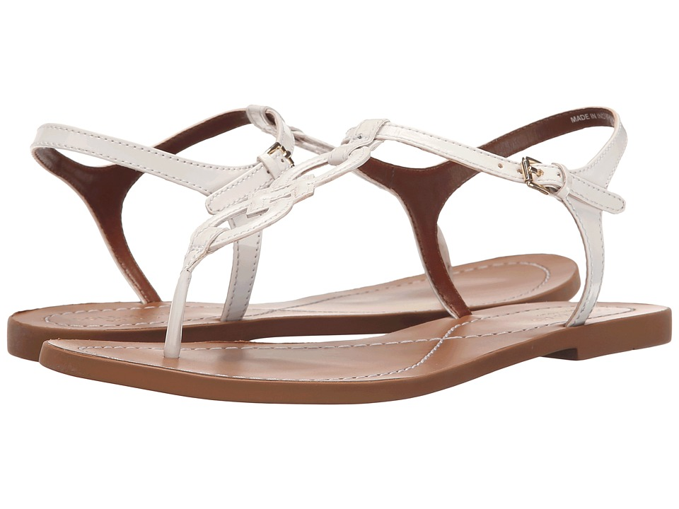 Cole Haan - Iris Sandal (Optic White Patent/Sunray) Women's Sandals