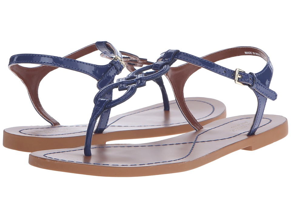 Cole Haan - Iris Sandal (Twilight Blue Patent) Women's Sandals