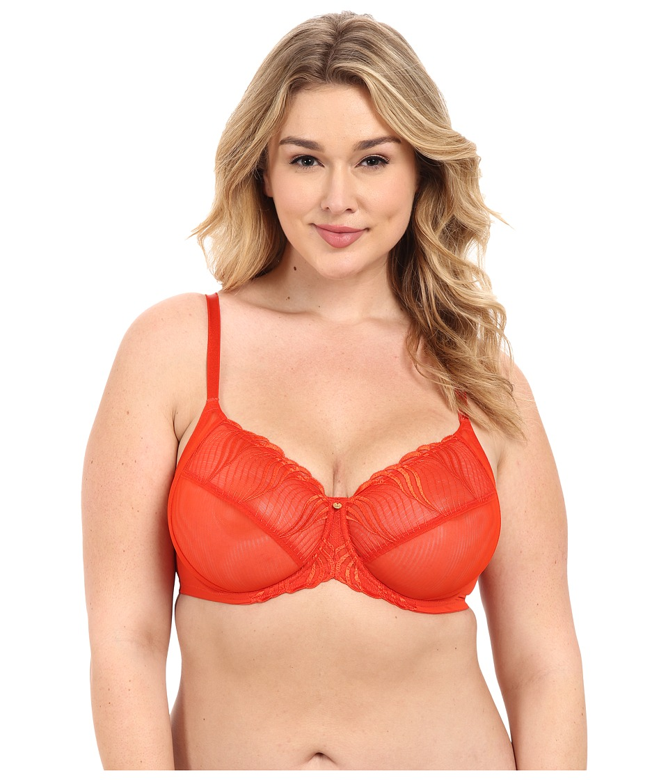 Natori - Seduction Full Figure Cut Sew Underwire Bra 736116 (Cardinal) Women