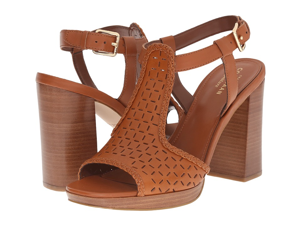 Cole Haan - Elettra High Sandal (Acorn) Women's Sandals