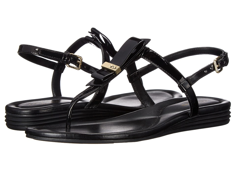 Cole Haan - Marnie Sandal (Black Patent) Women's Sandals