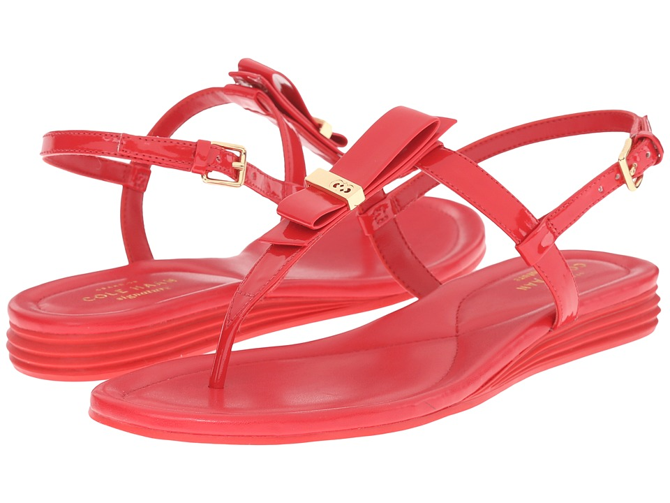 Cole Haan - Marnie Sandal (True Red Patent) Women's Sandals