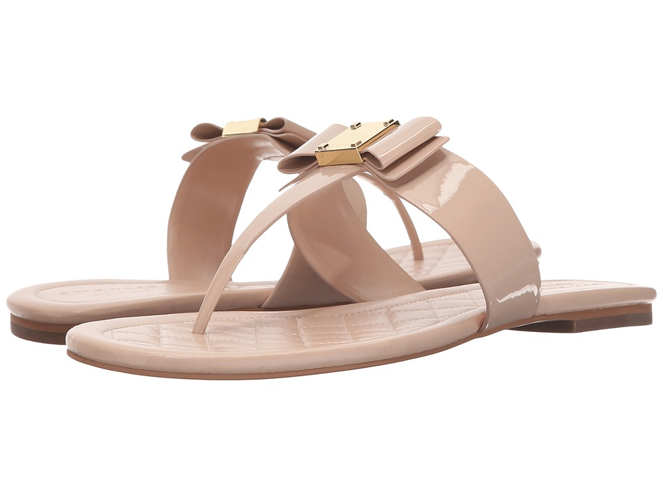 Cole Haan - Tali Bow Sandal (Nude Patent) Women's Sandals