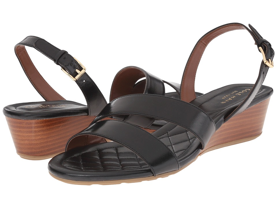 Cole Haan - Tali Grand Sandal 40 (Black) Women's Sandals