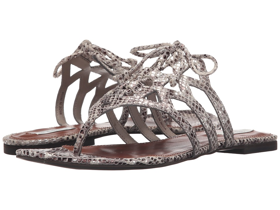 Cole Haan - Claudia Sandal (Silver Metallic Python Print) Women's Sandals