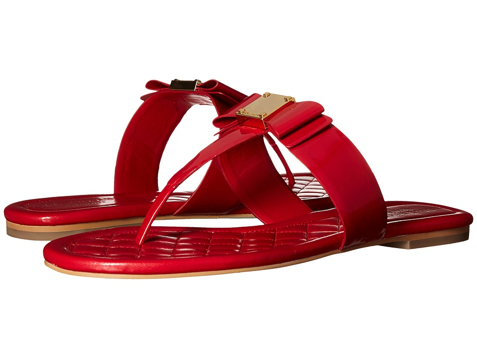 Cole Haan - Tali Bow Sandal (Tango Red Patent) Women