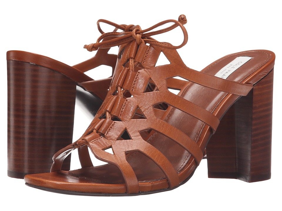 Cole Haan - Claudia High Sandal (Acorn Leather) Women's Sandals