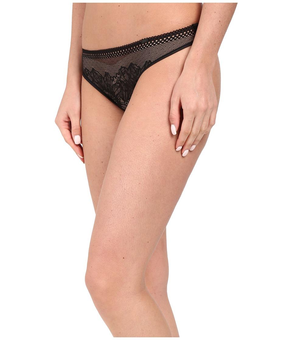 Calvin Klein Underwear - Sway Thong (Black) Women's Underwear