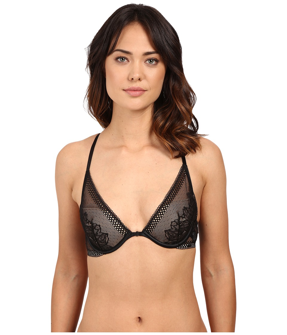 Calvin Klein Underwear - Sway Memory Touch Push-Up Racerback (Black) Women's Bra