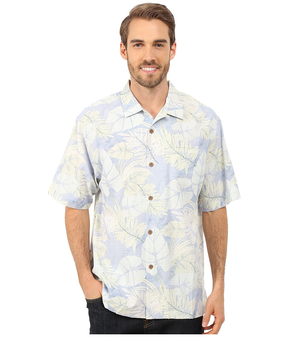 Tommy Bahama - Great Barrier Leaf Short Sleeve (Colonial Blue) Men's Short Sleeve Button Up