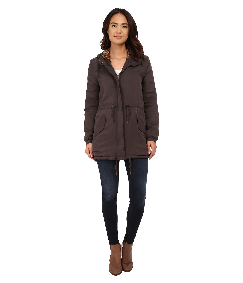 Obey - Leo Knightsbridge Jacket (Shark) Women's Coat