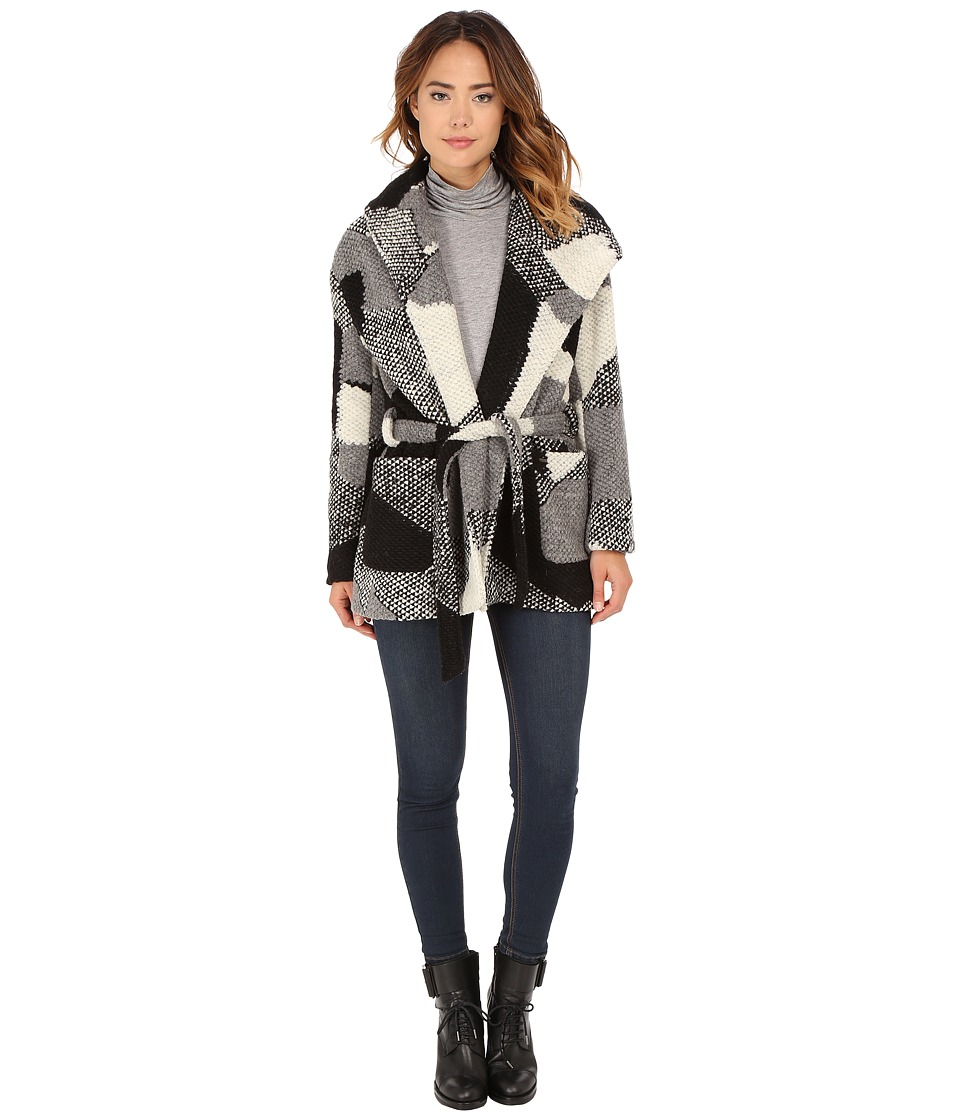 Obey - Bexley Wrap Jacket (Black Multi) Women's Coat