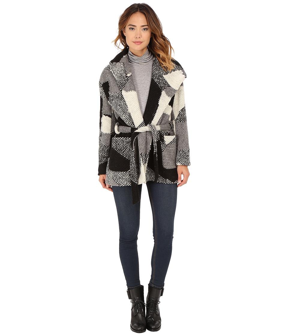 Obey - Bexley Wrap Jacket (Black Multi) Women's Coat