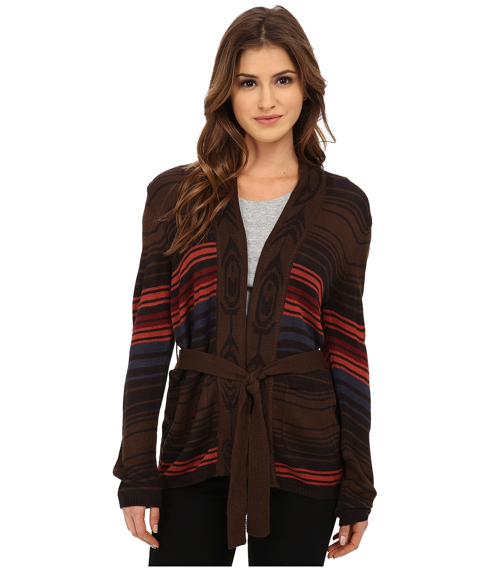 Obey - Slowdive Cardigan (Brown Multi) Women's Sweater