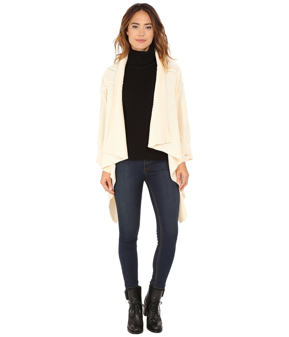 Obey - Vertigo Wrap Sweater (Heather Natural) Women's Sweater