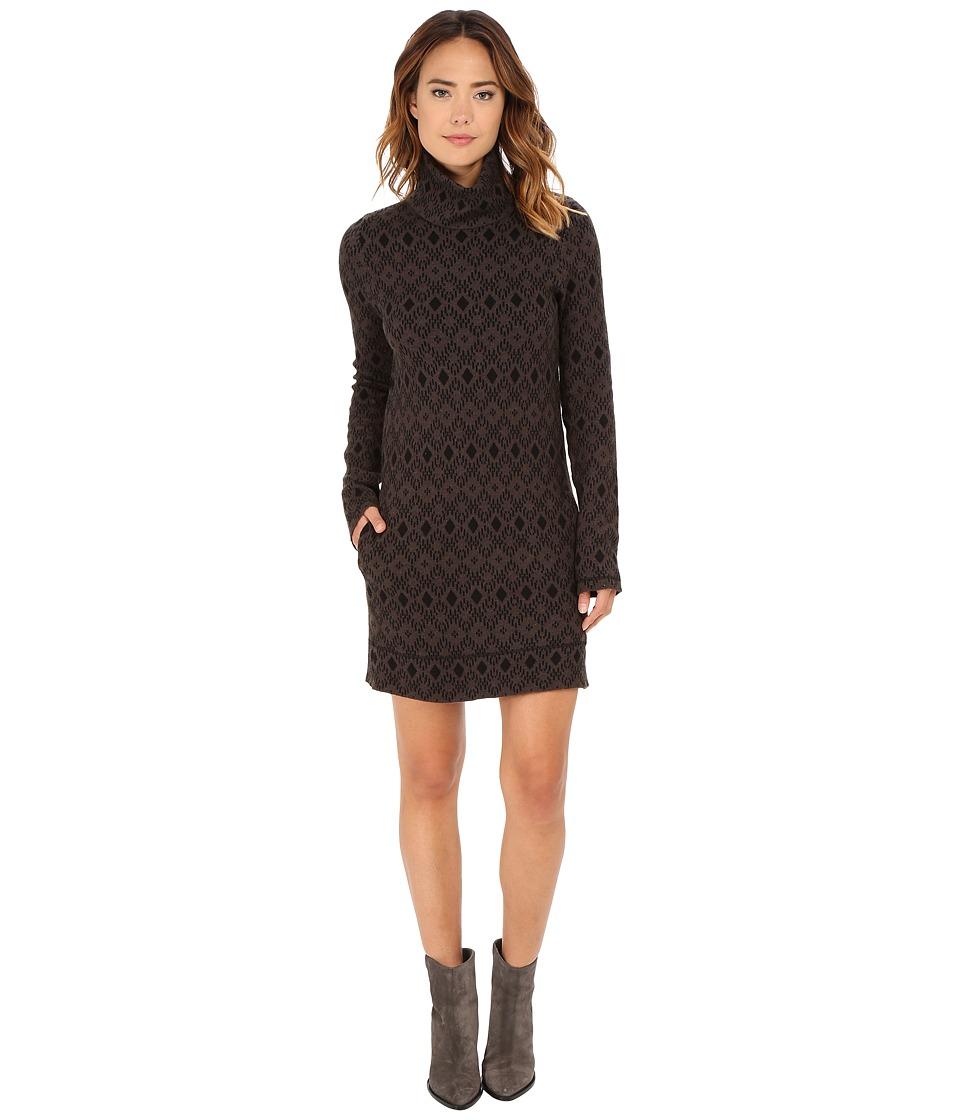 Obey - Charlie Sweater Dress (Black) Women