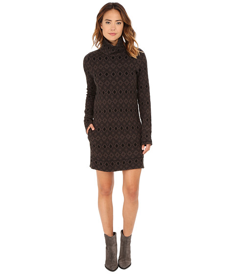 Obey - Charlie Sweater Dress (Black) Women