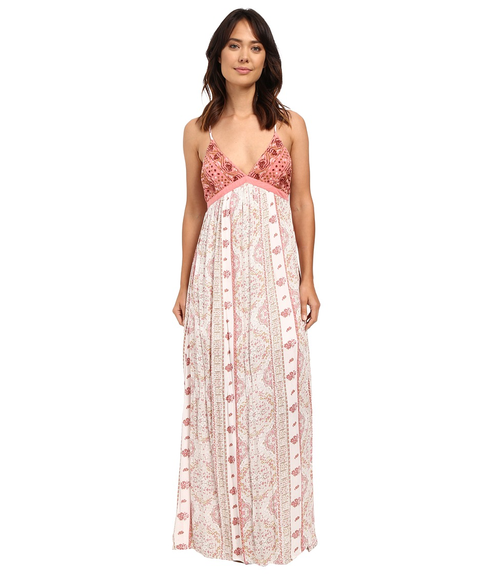 O'Neill - Della Maxi Dress (White) Women's Dress