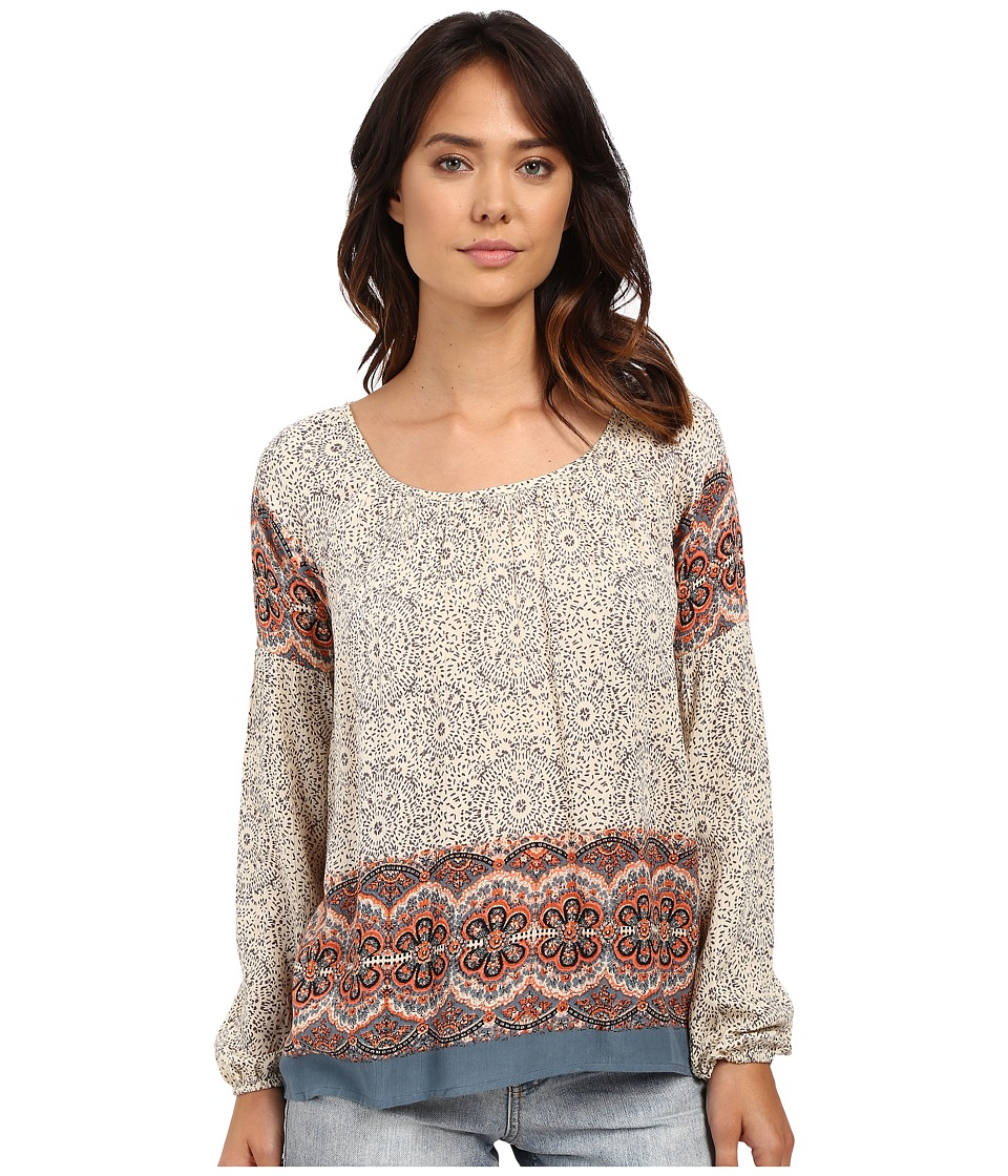 O'Neill - Marisol Woven Sleeved Top (Sandshell) Women's Clothing