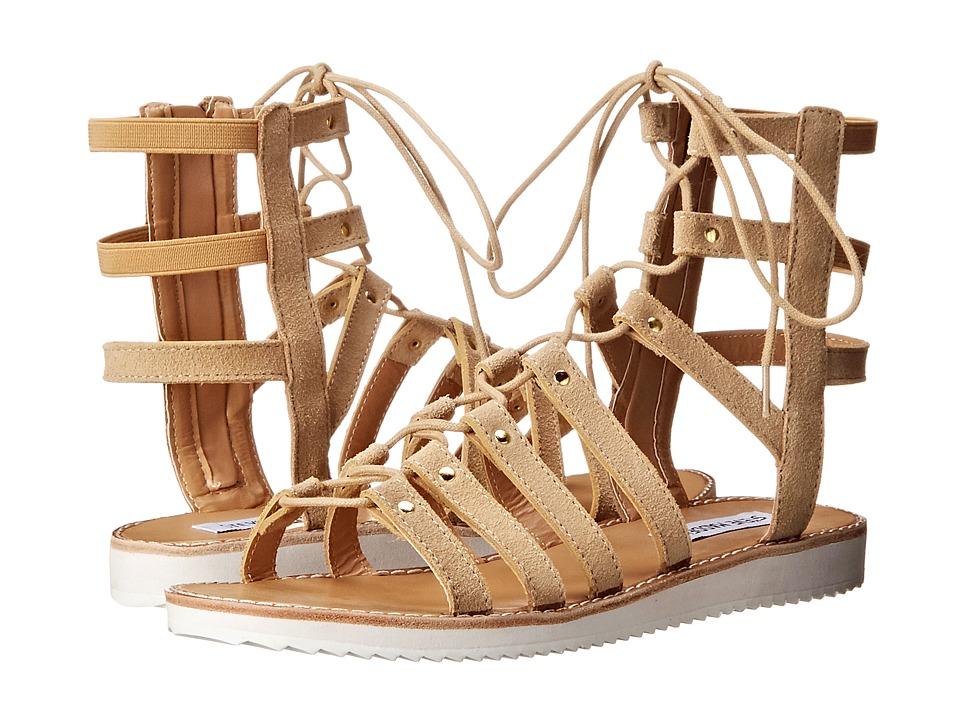 Steve Madden - Maybin (Sand Suede) Women's Sandals