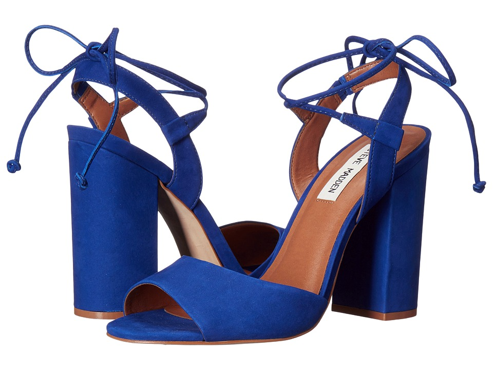 Steve Madden - Serrina (Blue Nubuck) High Heels