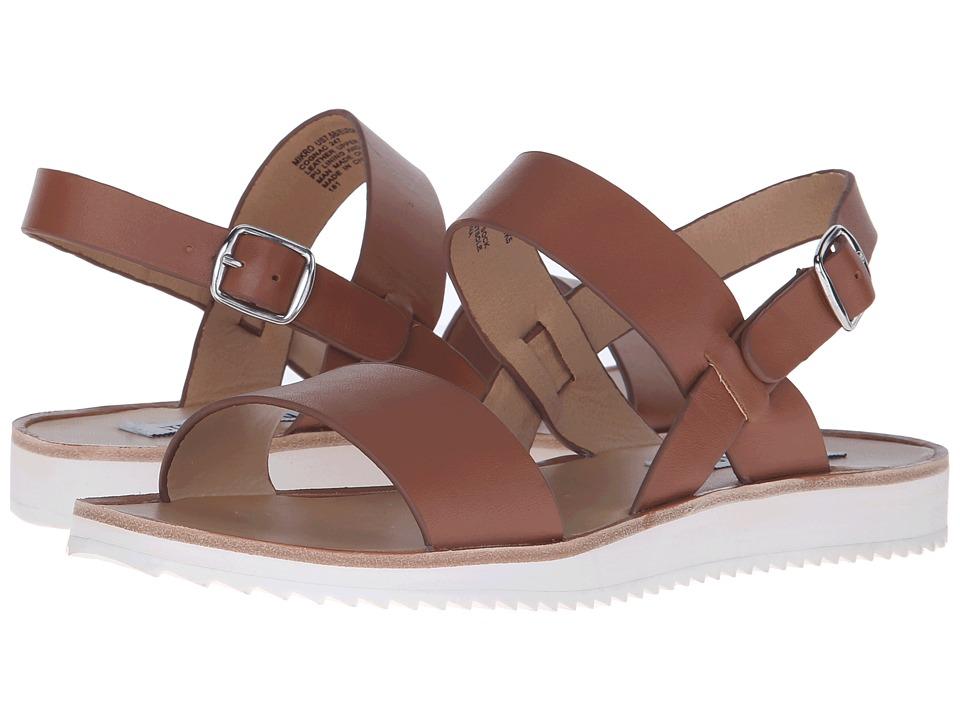 Steve Madden - Mikro (Cognac Leather) Women's Sandals