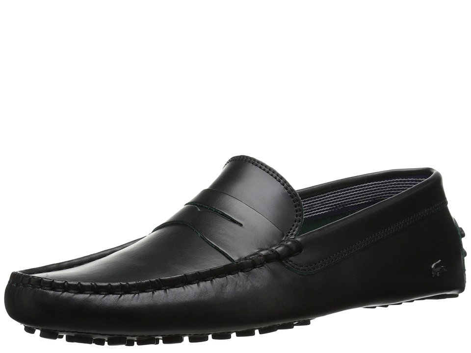 Lacoste - Concours 10 LCR (Black) Men's Shoes