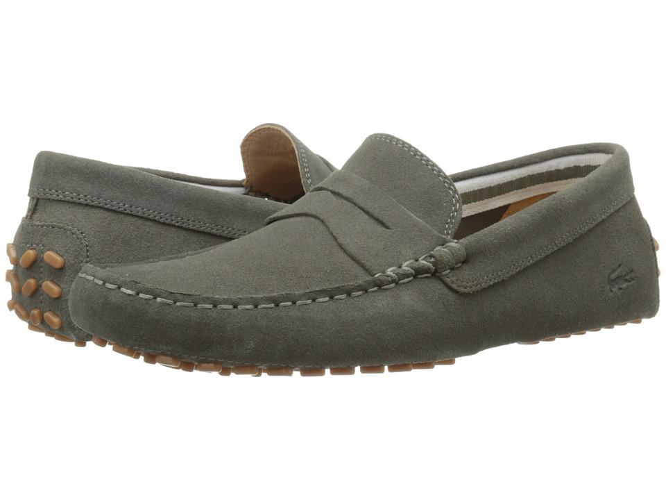Lacoste - Concours 116 1 (Khaki Green) Men's Shoes